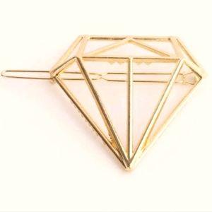 """2/$20 NWT Shu Uemura """"diamond"""" 💎 hair clip"""